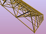 Space frame 3D
